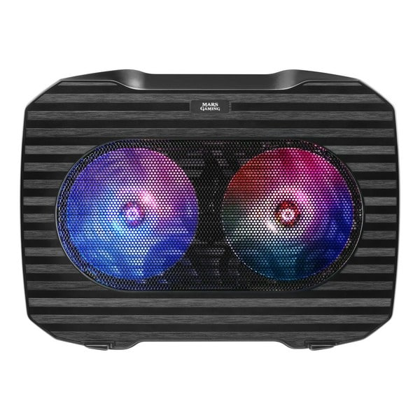 Gaming Cooling Base For A Laptop Mars Gaming Mnbc0 Rgb Black - 2