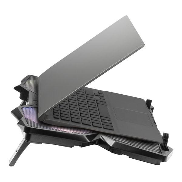 Gaming Cooling Base For A Laptop Mars Gaming Mnbc3 Rgb Black - 7