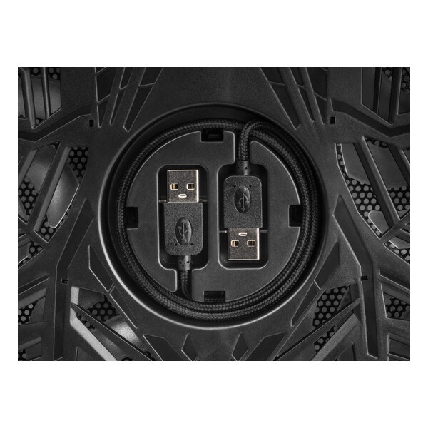 Gaming Cooling Base For A Laptop Mars Gaming Mnbc3 Rgb Black - 4