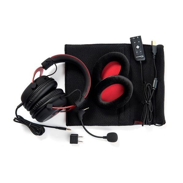 HyperX Cloud II 7 1 Pro Gaming Headset Red - 5