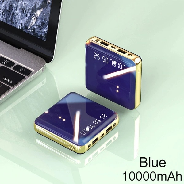 Mini Power Bank Blue 1000-2999 mAh - 1
