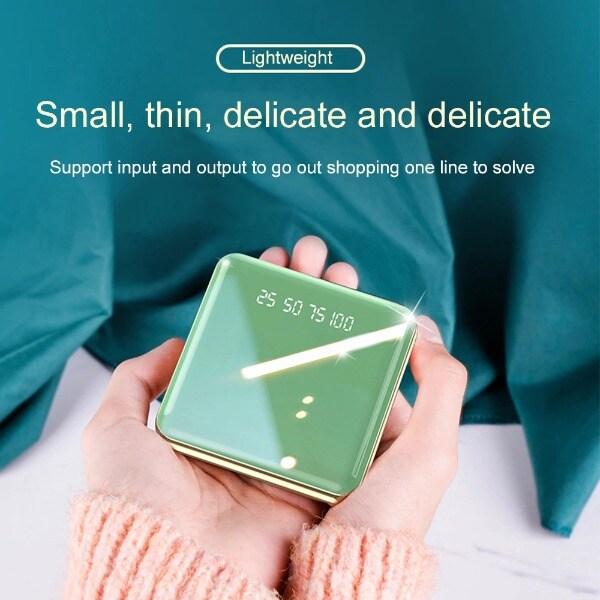 Mini Power Bank Green 1000-2999 mAh - 1