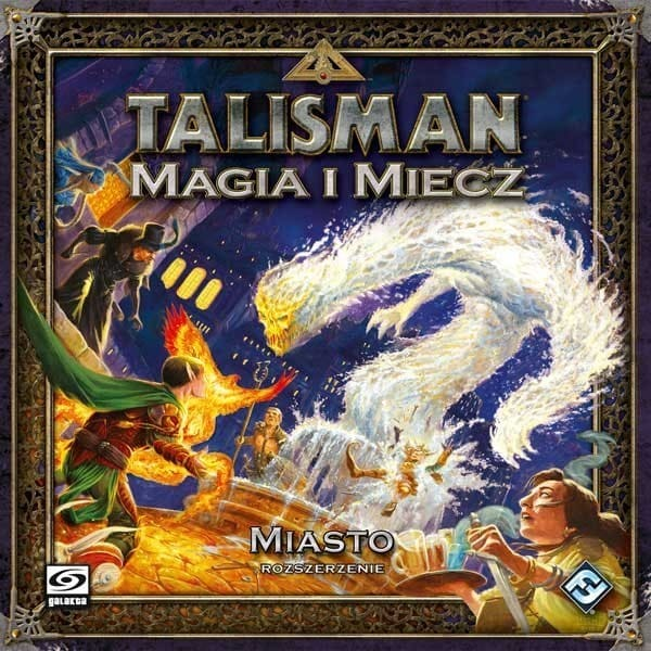 Talisman Magia i Miecz Miasto - 1