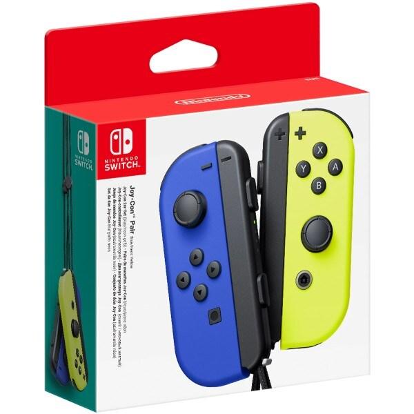 Wireless Gamepad Nintendo Joy-Con Blue Yellow - 1
