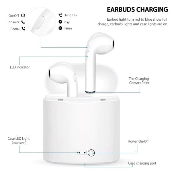Wireless Headphones Black - 4