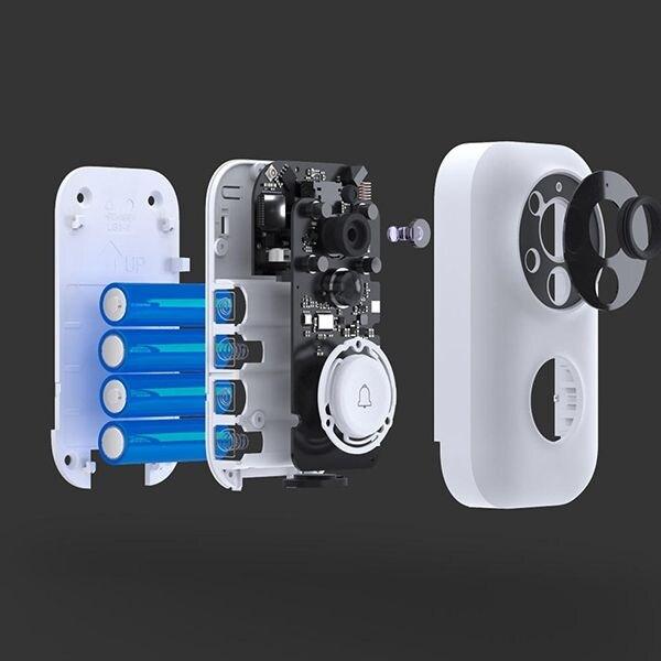 Xiaomi AI Face Identification 720P IR Night Vision Video Doorbell Set Motion Detection SMS Push Intercom - 7