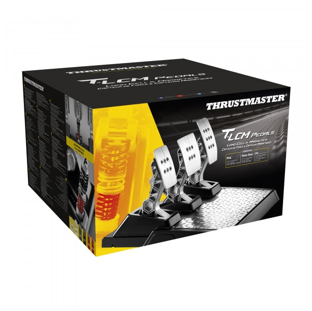 Thrustmaster T-LCM Racing Pedals Silver/Black - 1