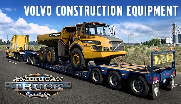 American Truck Simulator - Volvo Construction Equipment (PC) - Steam Gift - GLOBAL - 1