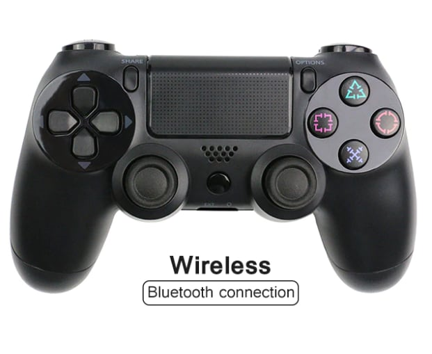 Wireless PlayStation Controller for PS4 Pro Slim and Normal - Black - 1