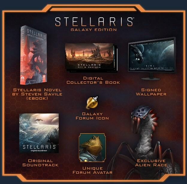 Stellaris: Galaxy Edition Upgrade Pack Key Steam GLOBAL - 2