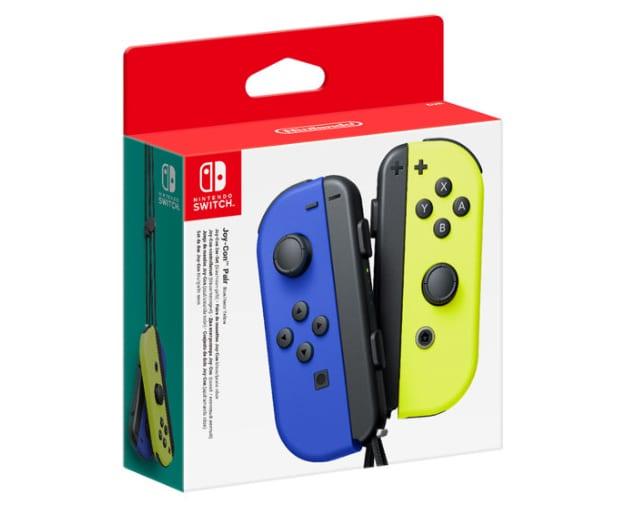 Nintendo Switch Joy-Con Wireless Controller Pair - Neon Blue/Yellow Multi-Color - 1