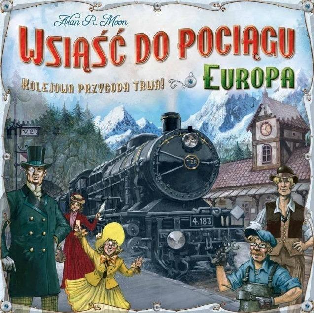 Wsiąść do Pociągu Europa - 1