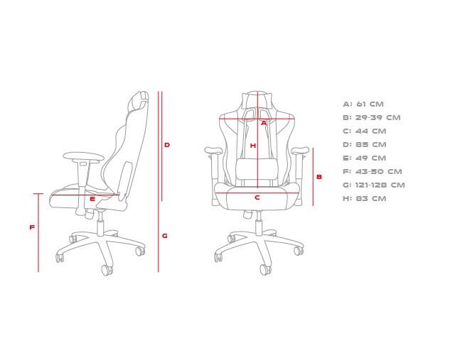 Fotel gamingowy Genesis Nitro 770 Gaming Chair - 5