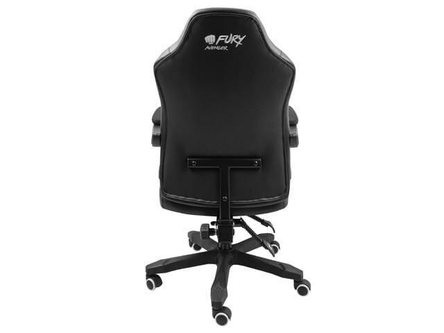 NATEC Fotel dla graczy Fury Avenger M+ Czarno-biały - 7