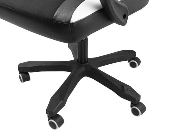 NATEC Fotel dla graczy Fury Avenger M+ Czarno-biały - 3