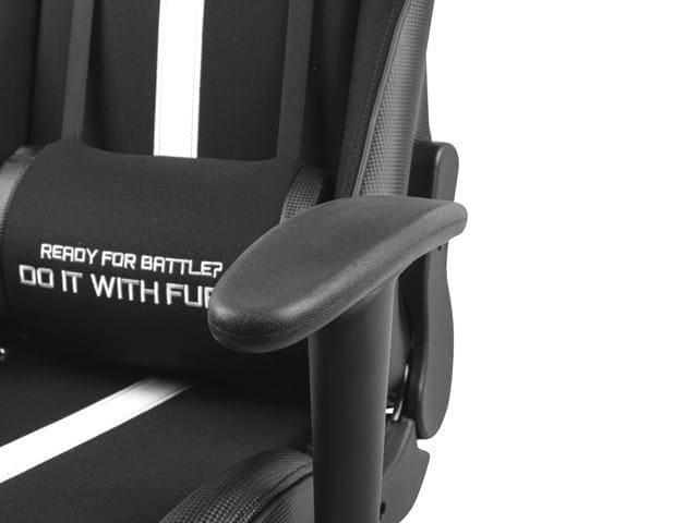 NATEC Fotel dla graczy Fury Avenger XL Czarno-biały - 3