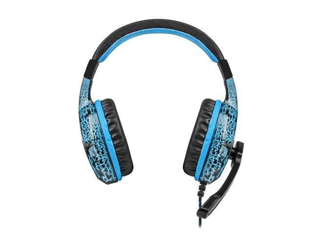 Słuchawki nauszne Fury Hellcat z mikrofonem Black - 2