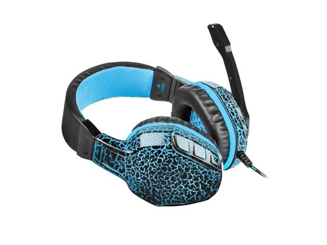Słuchawki nauszne Fury Hellcat z mikrofonem Black - 3