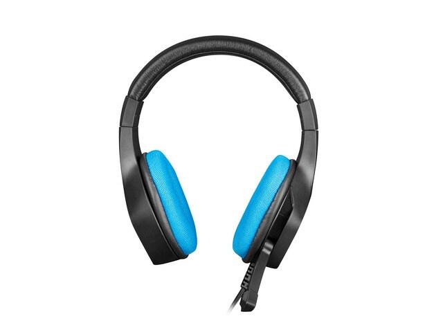 Słuchawki nauszne Fury Phantom z mikrofonem Black - 2
