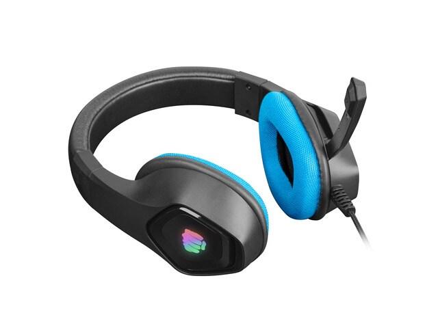 Słuchawki nauszne Fury Phantom z mikrofonem Black - 3