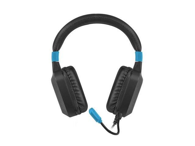 Słuchawki nauszne Fury Warhawk z mikrofonem Black - 2