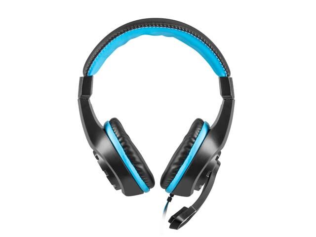 Słuchawki nauszne Fury Wildcat z mikrofonem Black - 3