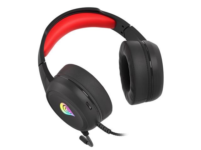 Słuchawki nauszne Genesis Neon 200 RGB Black - 1