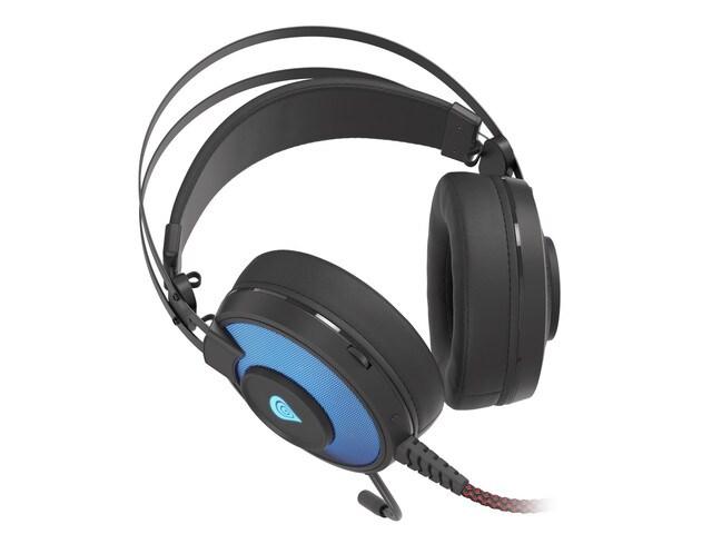 Słuchawki nauszne Genesis Neon 600 RGB Black - 2