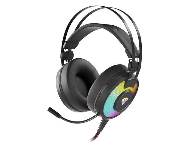 Słuchawki nauszne Genesis Neon 600 RGB Black - 1