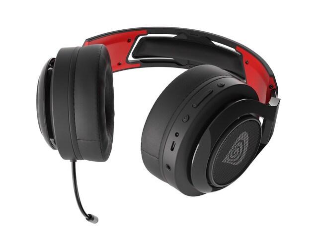 Słuchawki nauszne Genesis Selen 400 bezprzewodowe Black - 5