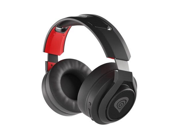 Słuchawki nauszne Genesis Selen 400 bezprzewodowe Black - 3