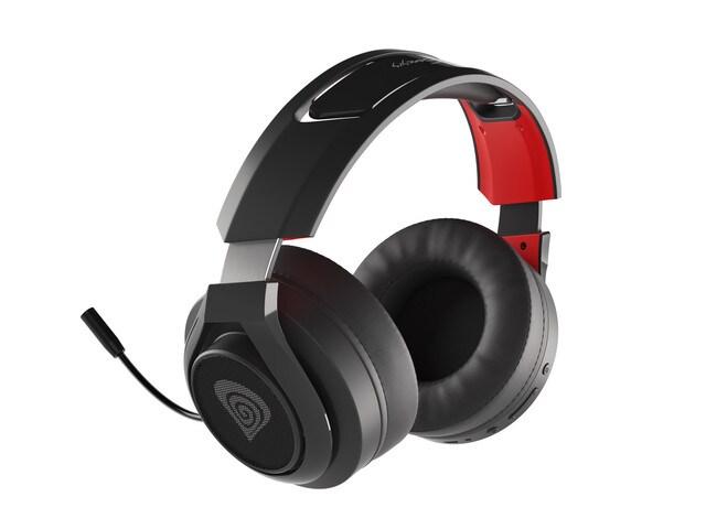 Słuchawki nauszne Genesis Selen 400 bezprzewodowe Black - 4
