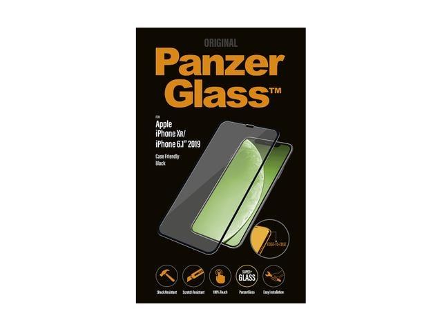Szkło Hartowane Panzerglass Do Iphone Xr/11 Czarne Do Etui - 1