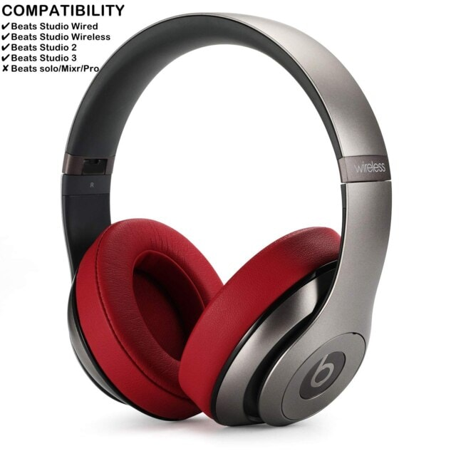 1Pair Replacement Ear Pads Black - 6