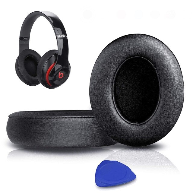 1Pair Replacement Ear Pads Black - 1