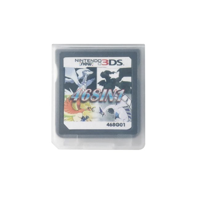 468 in 1 Video Game Cartridge Compilation Card For DS 2DS 3DS NDSL NDSI Console Nintendo 3DS - 2