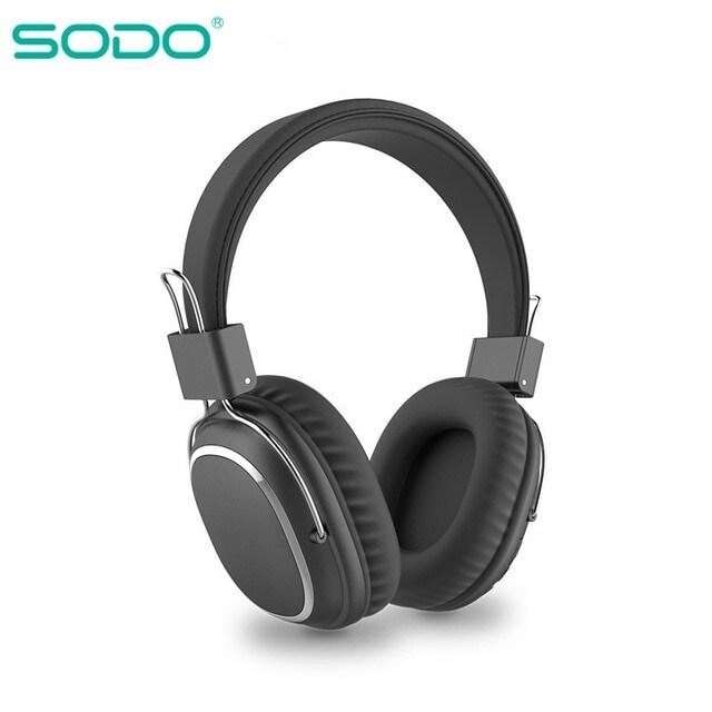 Bluetooth casque sur-oreille filaire sans fil Dark Blue - 1