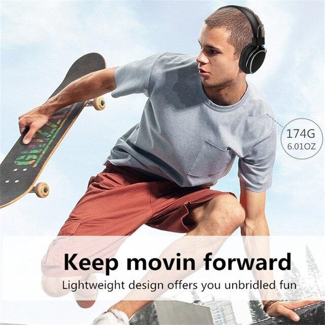 Bluetooth casque sur-oreille filaire sans fil Dark Blue - 6