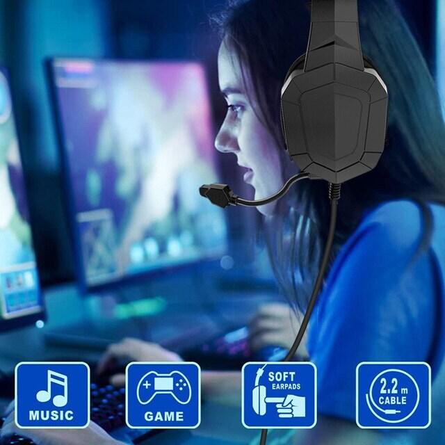 Gamer Headset Professionnel Black - 6