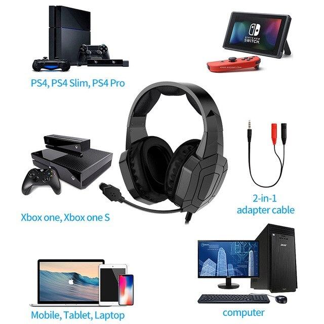 Gamer Headset Professionnel Black - 4
