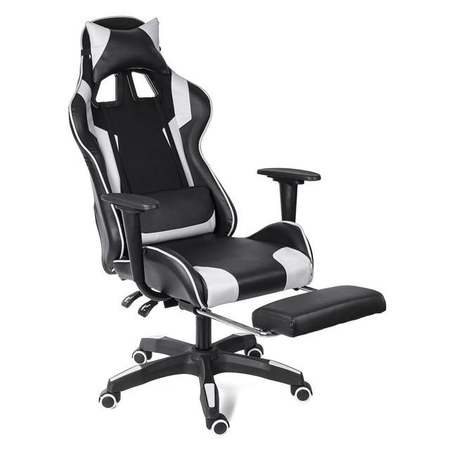 Gaming Office Chair Gaming Chair Black & white - 3