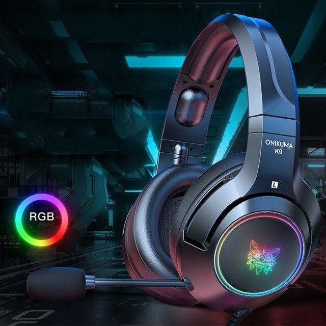 Headset casque PS4 Gaming Headphones Blue - 5