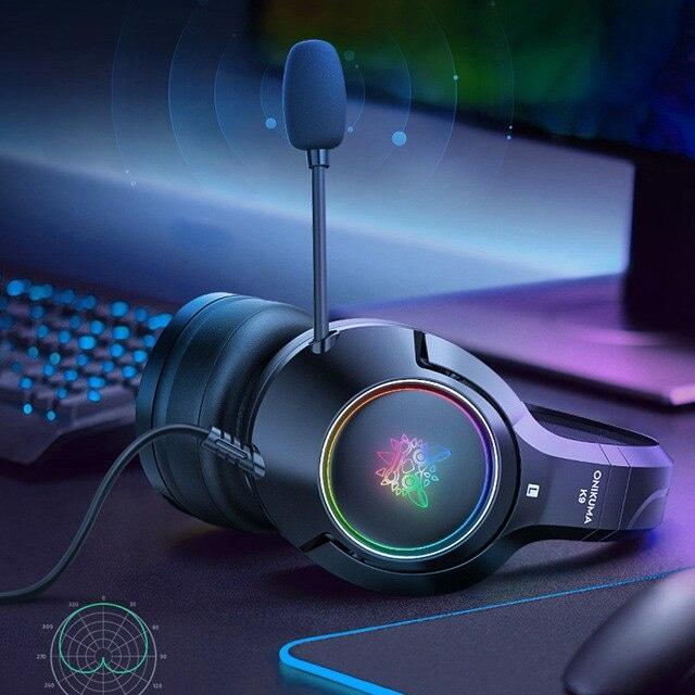 Headset casque PS4 Gaming Headphones Blue - 4