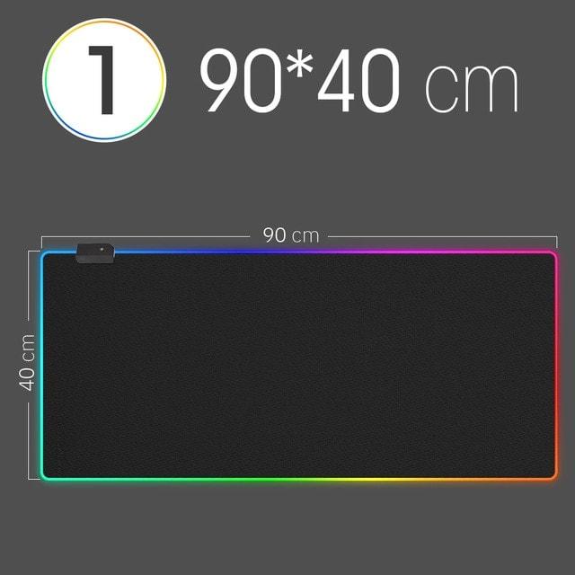 LED Light Mousepad Multi-Color Gaming - 1