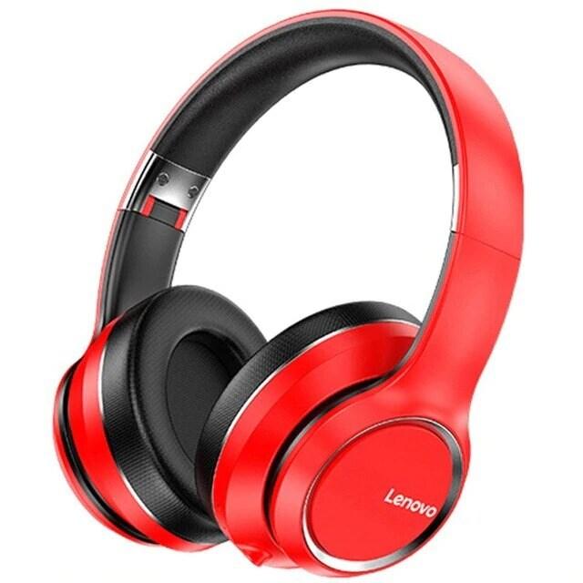 Lenovo HD200 Wireless Headphones Bluetooth 5.0 Red - 2