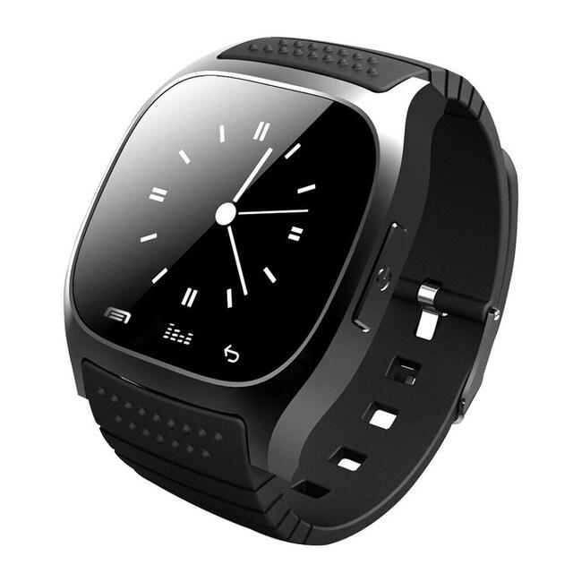M26 Bluetooth Touch Screen Smart Watch  Black - 5