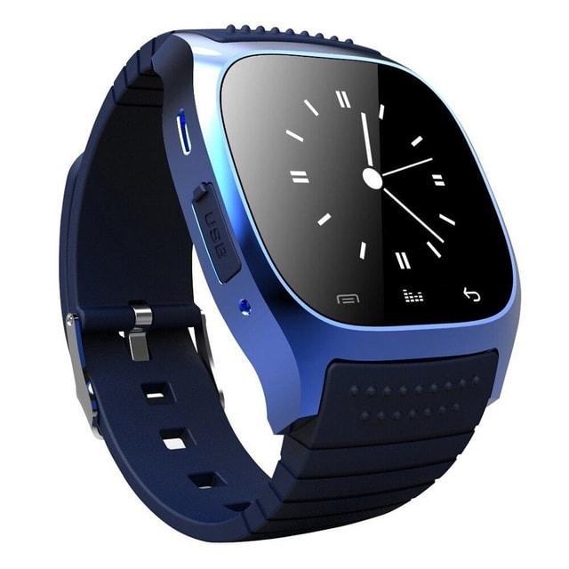 M26 Bluetooth Touch Screen Smart Watch  Blue - 3