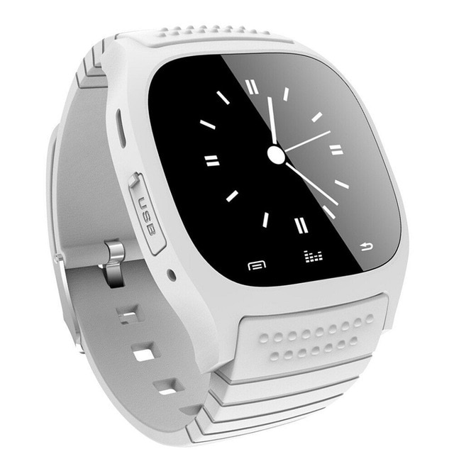 M26 Bluetooth Touch Screen Smart Watch  White - 2