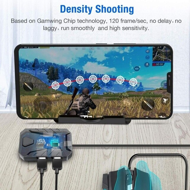 Mobile Game Keyboard and Mouse Adapter Gaming - 4