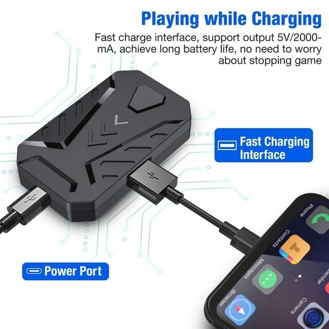 Mobile Game Keyboard and Mouse Adapter Gaming - 5